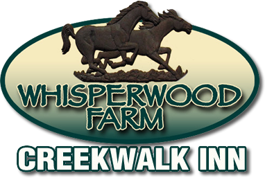 Creekwalk Inn at Whisperwood Farm Logo