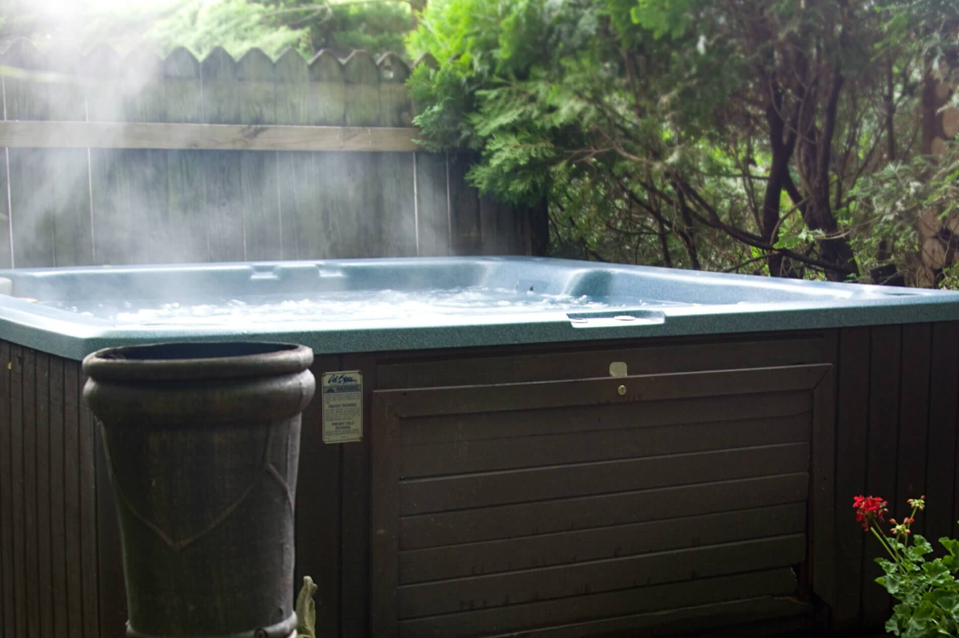 Picture of hottub.